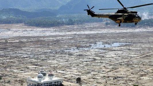 El tsunami de Indonesia