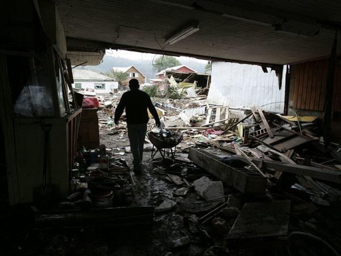 Chile tras un tsunami