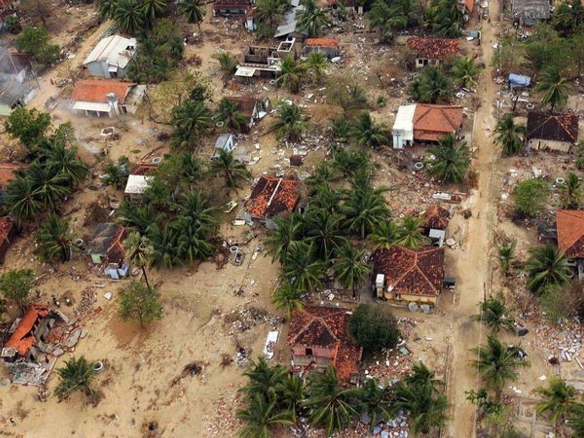 Tsunami, Sri Lanka