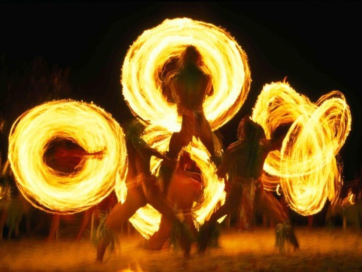Danza del fuego, Bora Bora