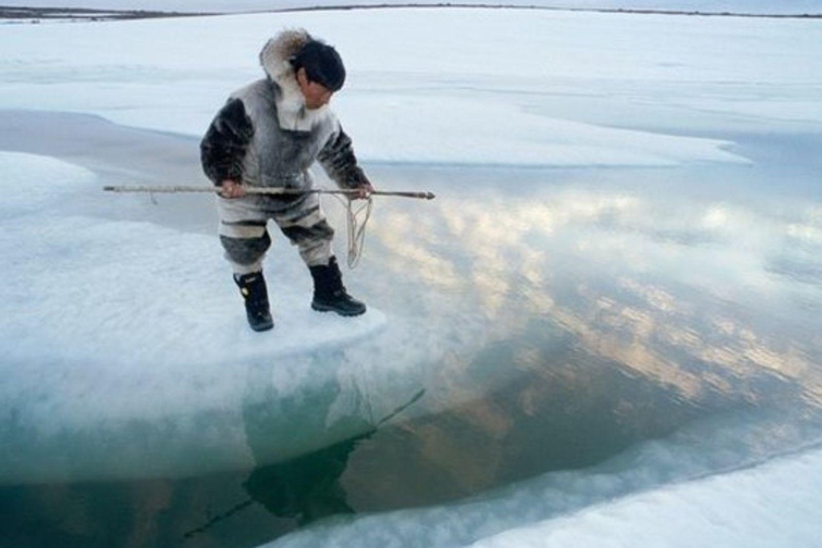 Los inuit, testigos del cambio climático
