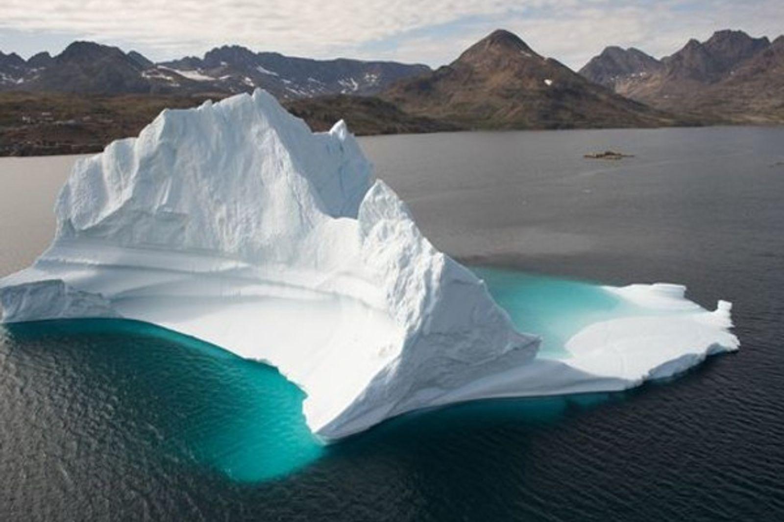 El Titanic se enfrentaría hoy a más icebergs