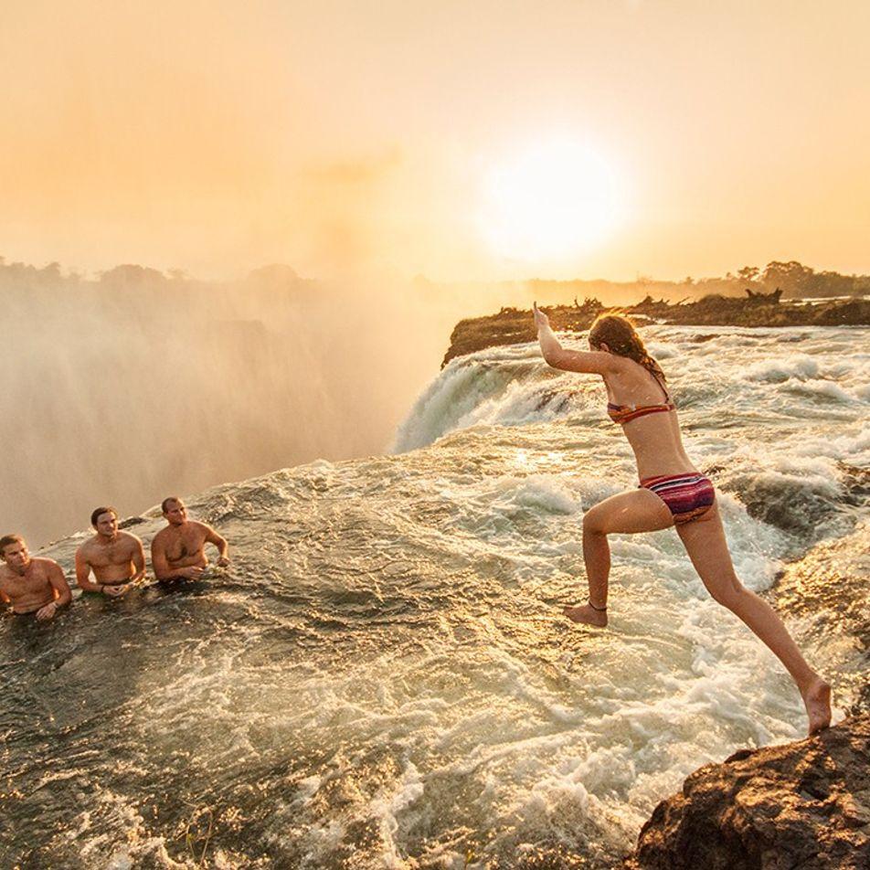 Lugares Patrimonio de la Humanidad: las cataratas Victoria