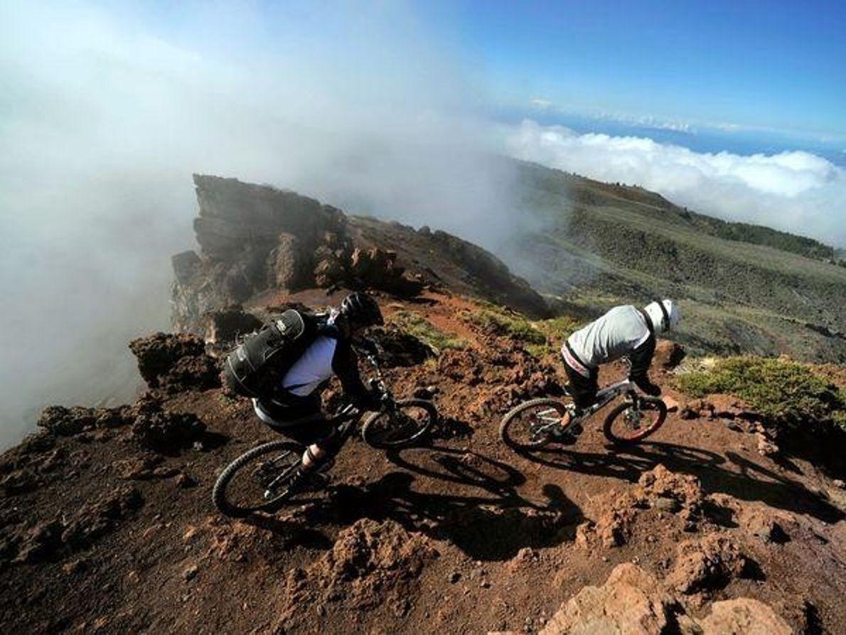 En bicicleta por Canarias