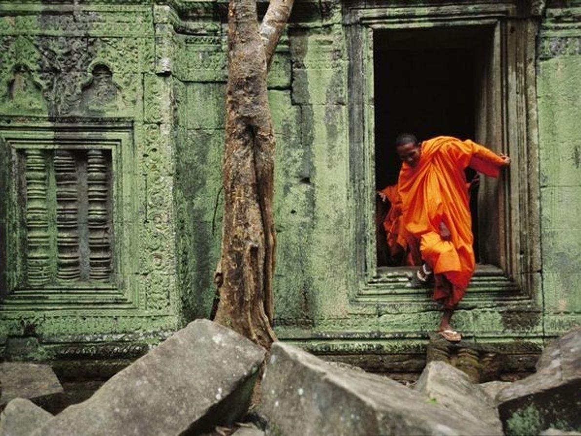 Puerta del templo de Angkor Wat