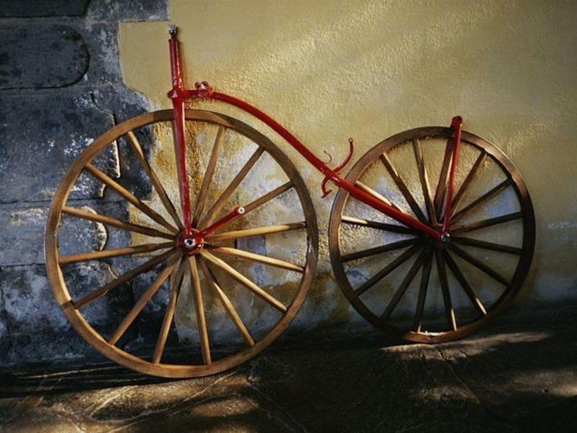 Bicicleta antigua, México