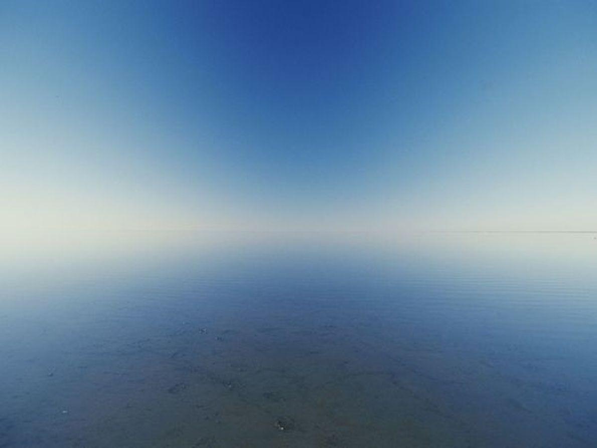 Lago inundado, Australia