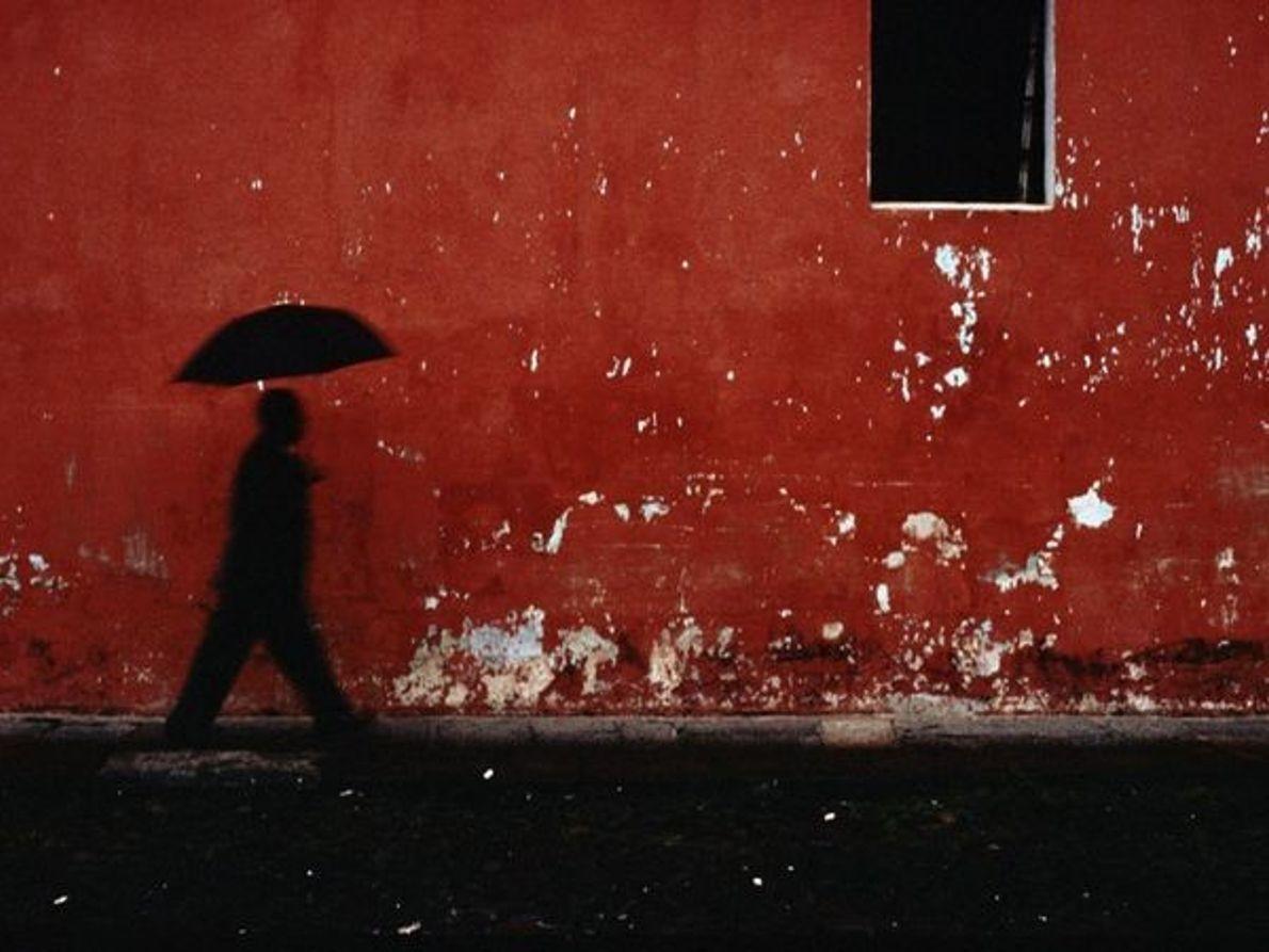 Pared roja, Guatemala
