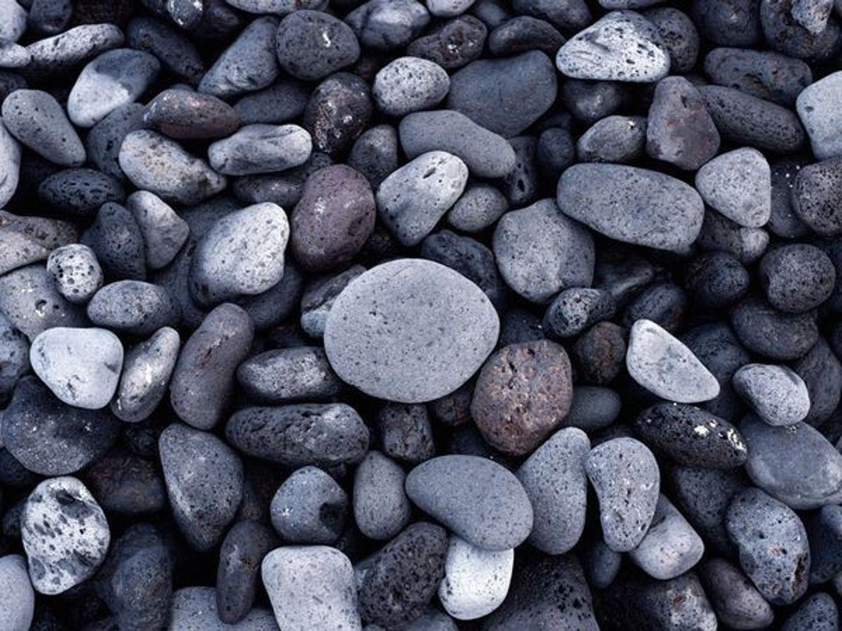 Rocas de playa, Hawái