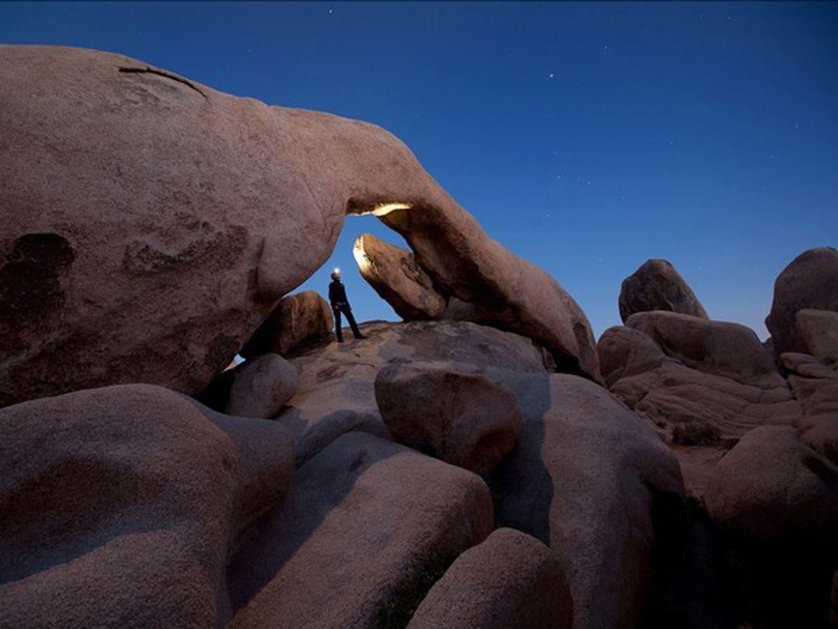 Arco de rocas, Parque nacional de Árboles de Josué