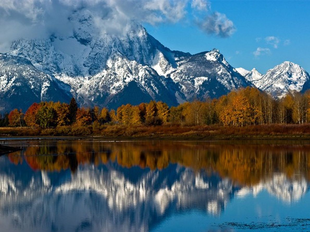 Monte Moran, Parque Nacional de Grand Teton