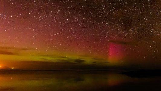 Auroras y meteoritos