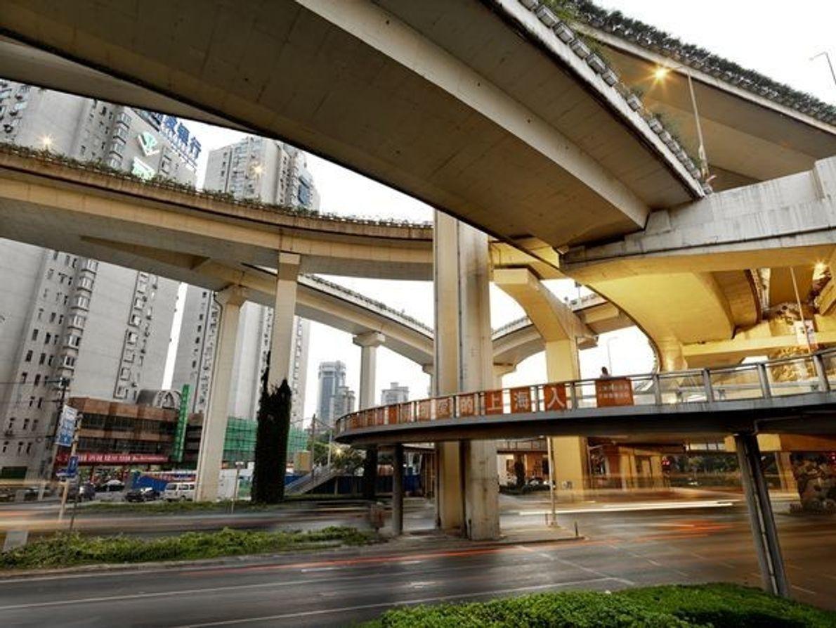 La ciudad de Shanghái se está convirtiendo poco a poco en una de las redes de …