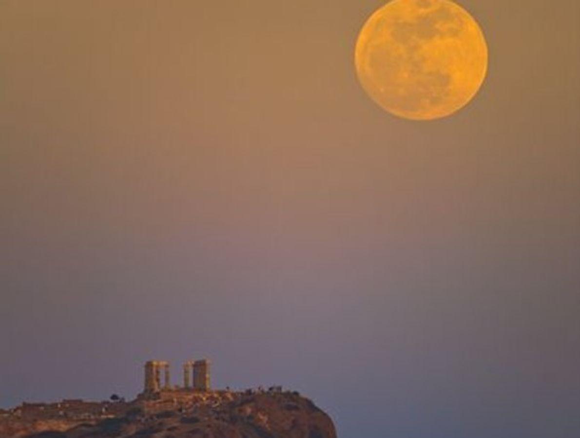 La súper luna de Poseidón