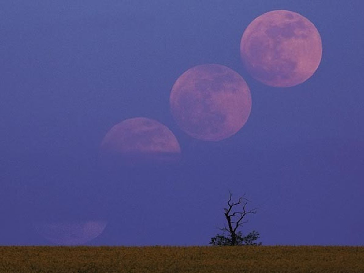 La Luna en Hungría