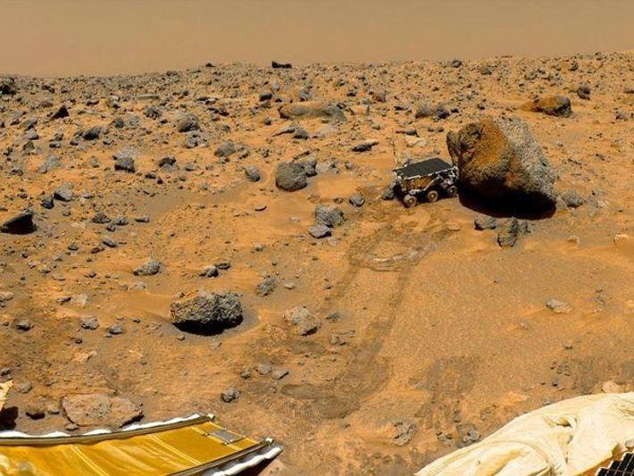 Paisaje marciano