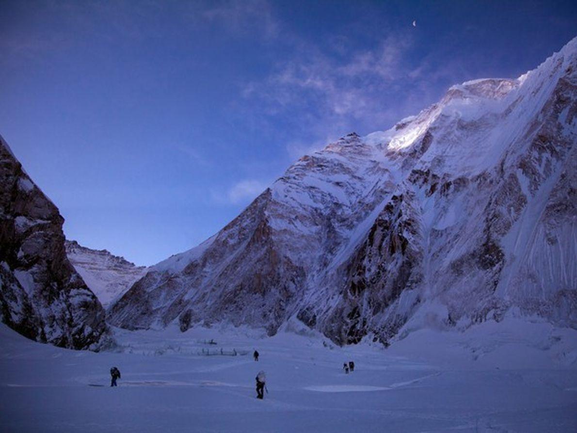 Cwm Occidental, Monte Everest