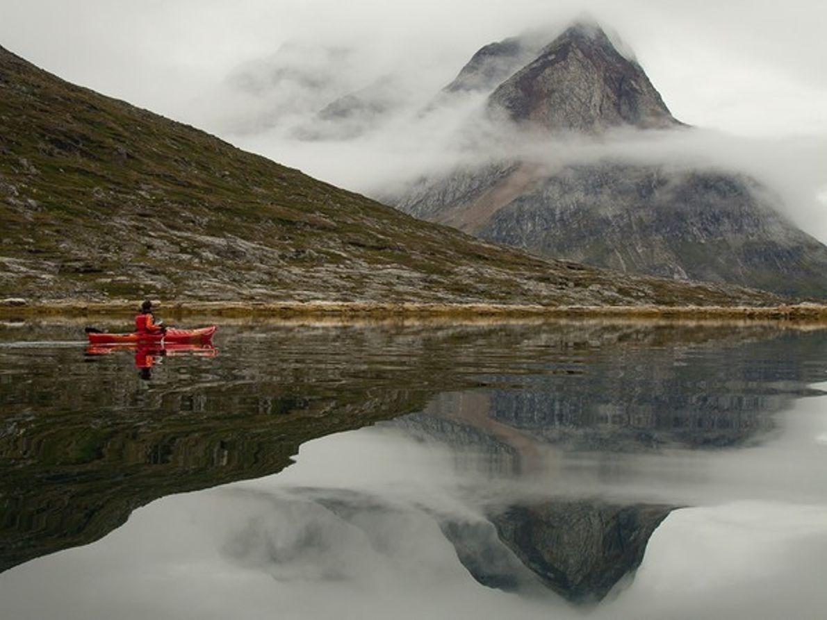 Kayak, Groenlandia