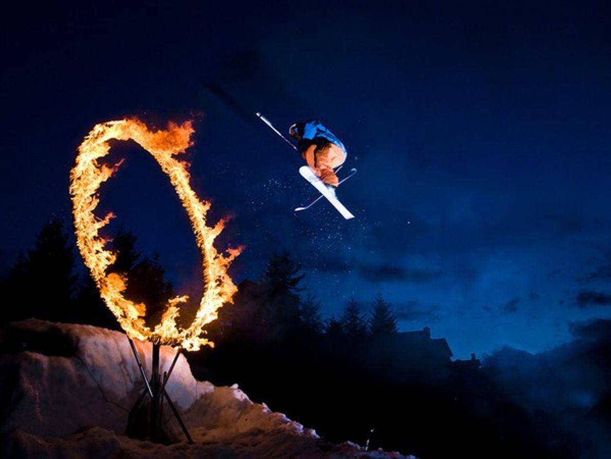 Esquiador, Whistler
