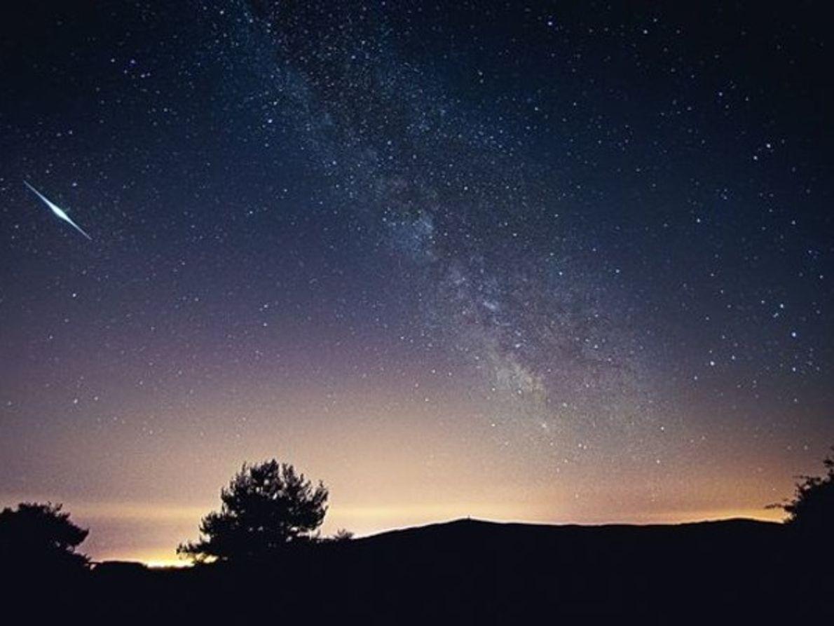 Visitantes de la Vía Láctea