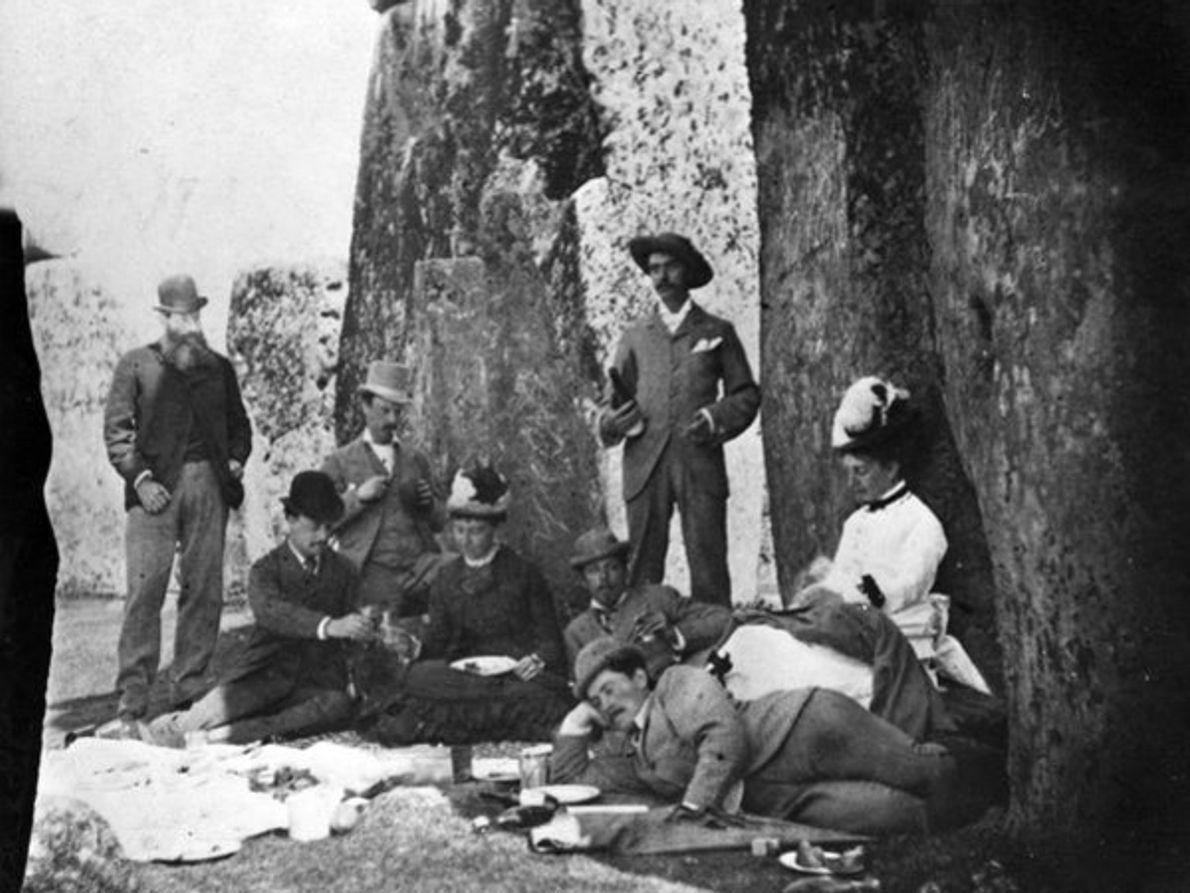 Día de campo en Stonehenge