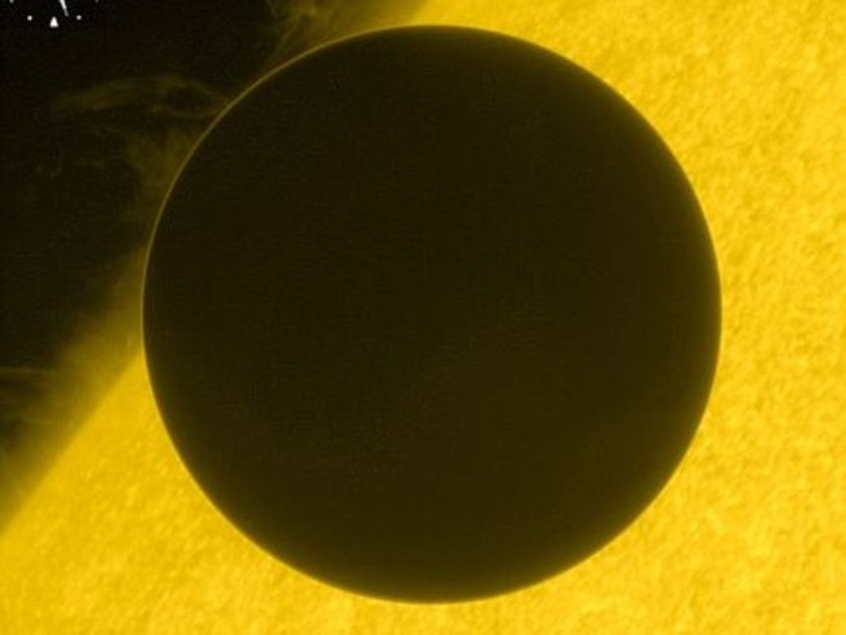 La atmósfera de Venus