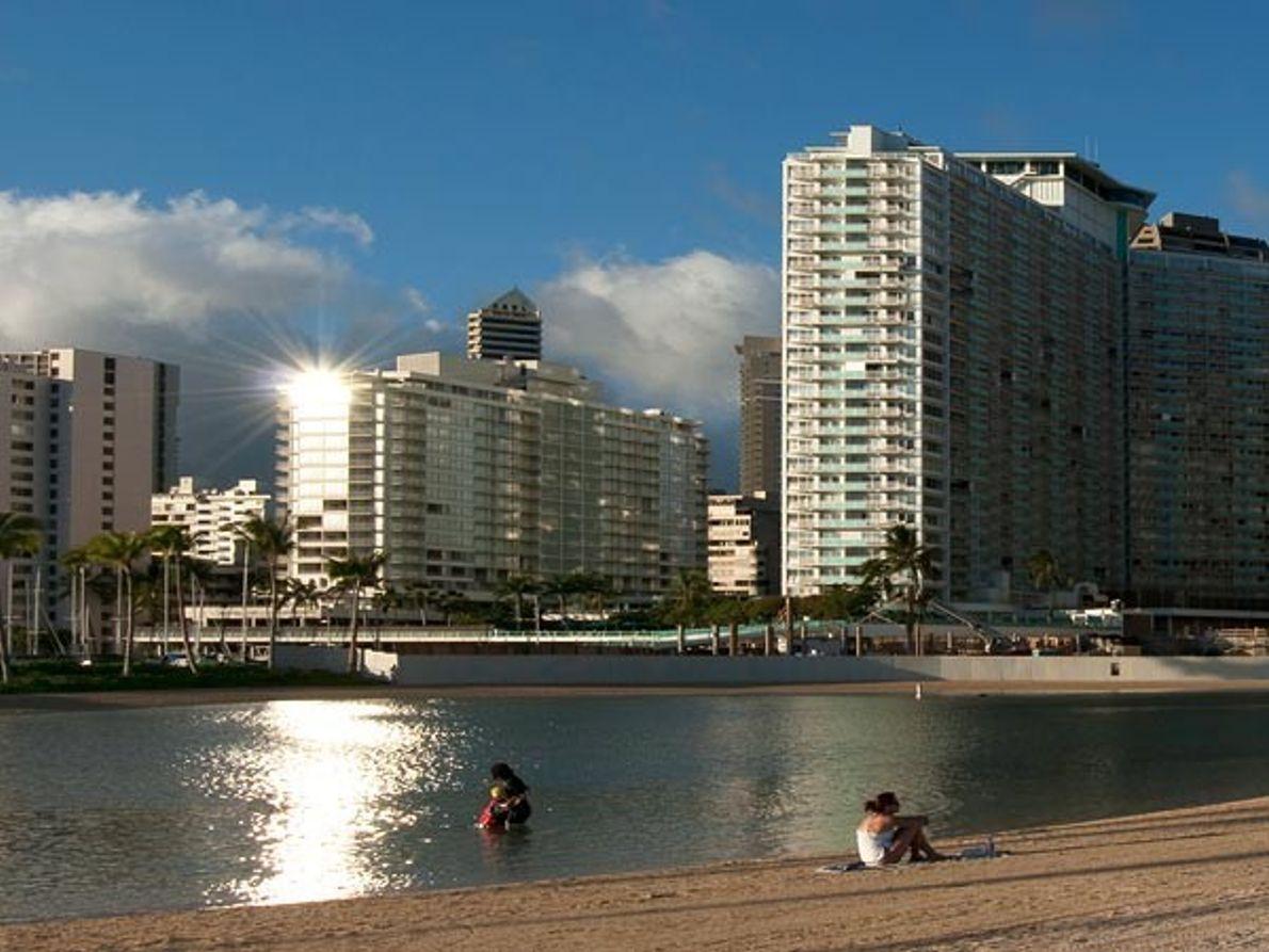 2. Playa Kahanamoku, Hawái