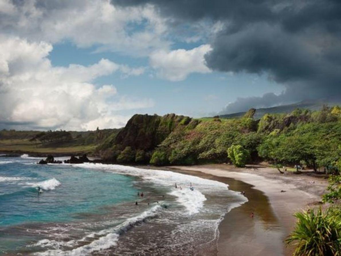 5. Playa Hamoa, Hawái