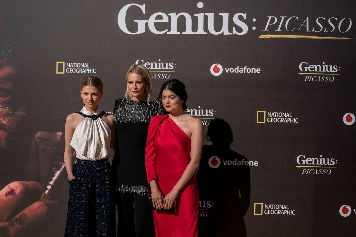 Clémence Poésy, Poppy Delevingne y Samantha Colley