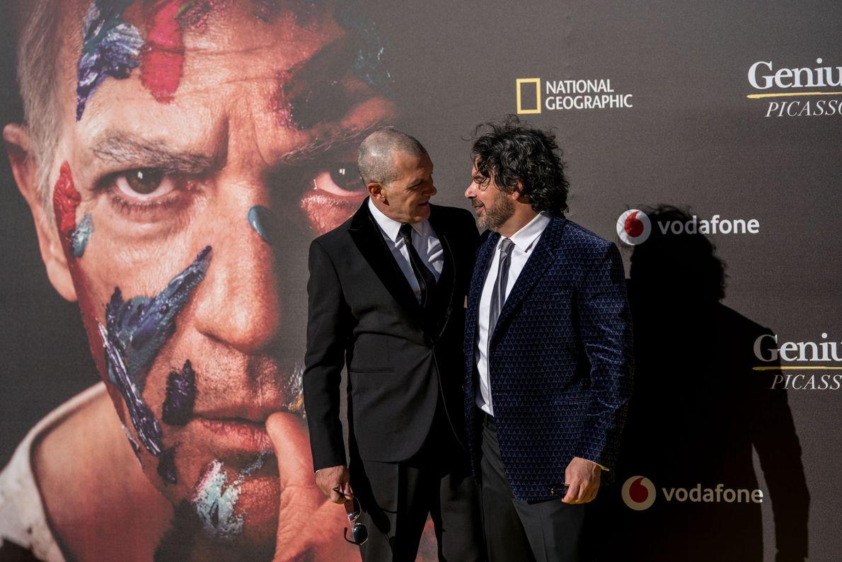Antonio Banderas y Kenneth Biller