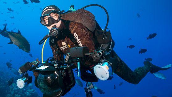Manu San Félix, el explorador de los últimos santuarios marinos del mundo
