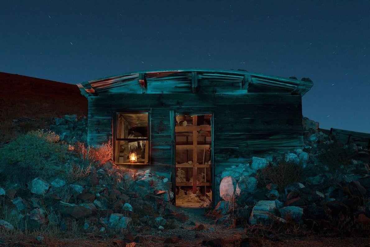 Mina abandonada, Lovelock, Nevada