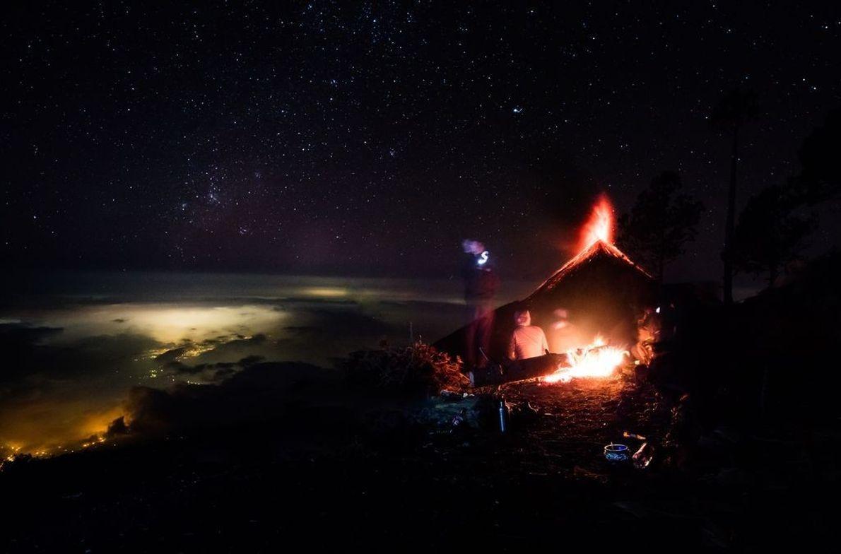 Volcán Fuego, Guatemala