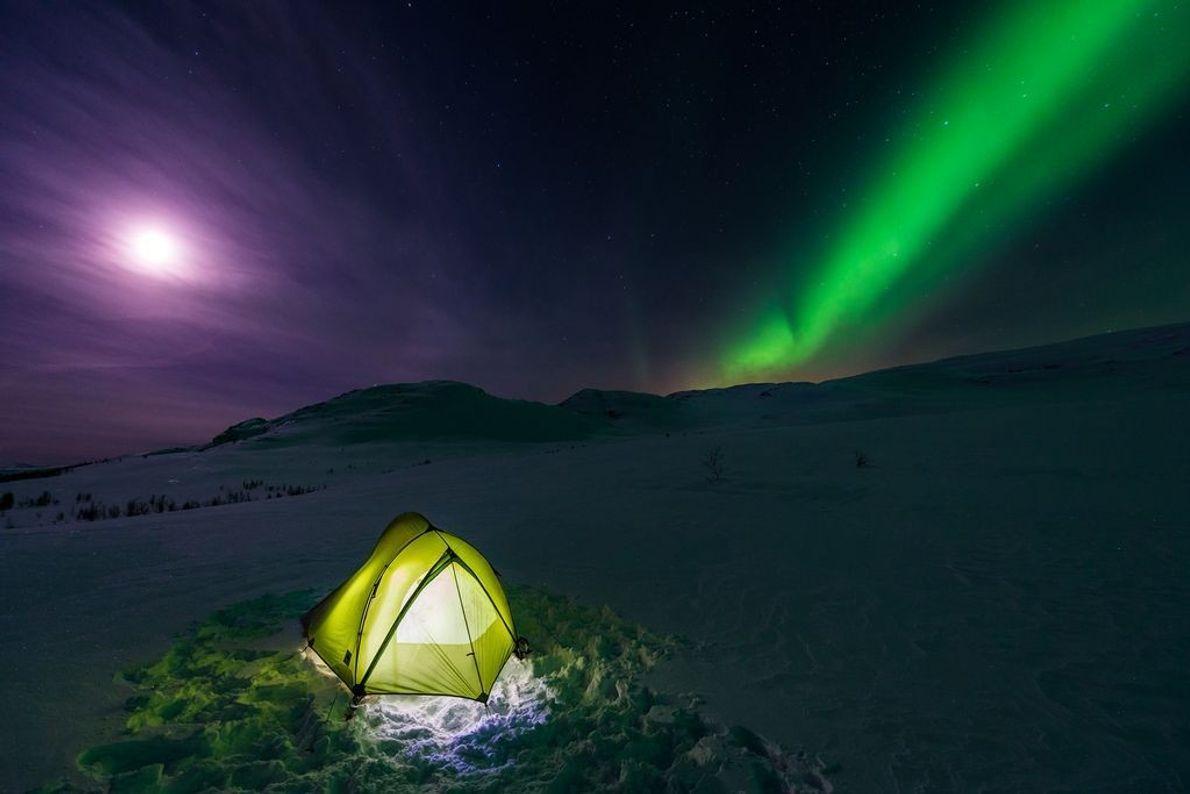 Parque nacional de Abisko, Suecia