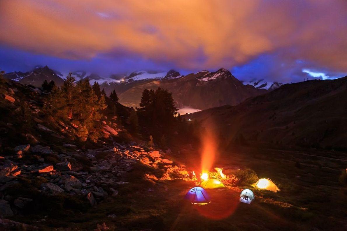 Alpes suizos
