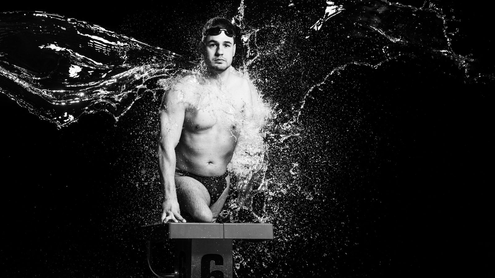 El nadador esloveno Darko Duric nació con una amputación congénita, una patología por la que algunas ...