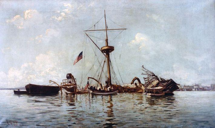 Los restos del USS Maine