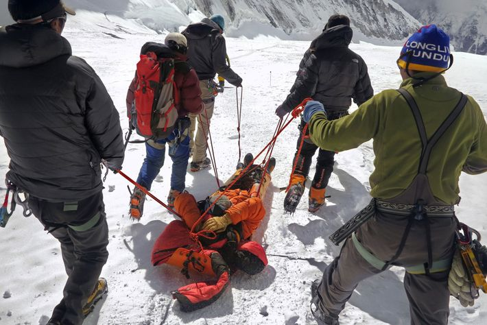 Cory Richads, Everest