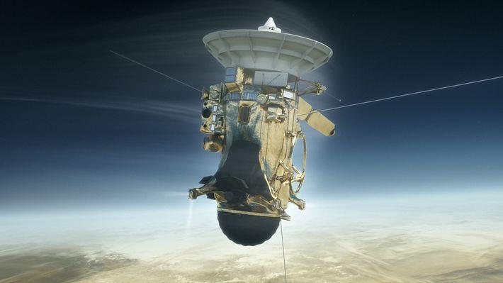 Cassini se estrellará en Saturno, poniendo fin a una misión épica