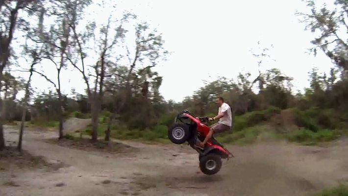 Cuidado con el quad
