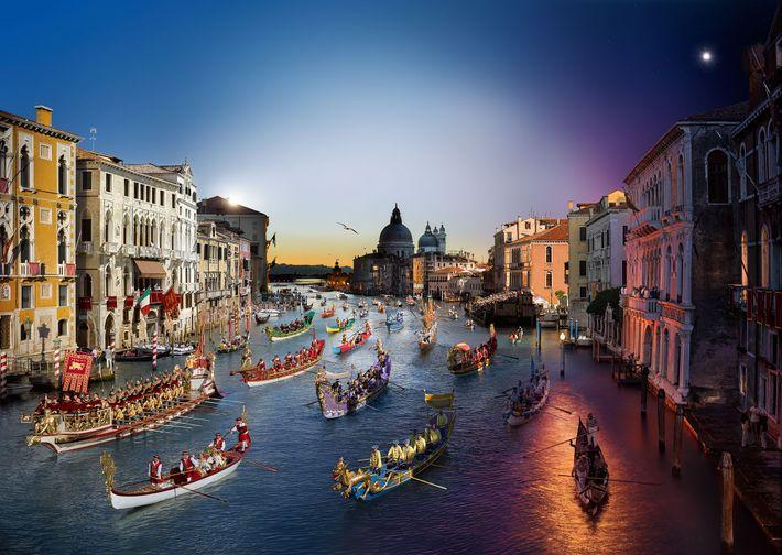 Regata, Venecia