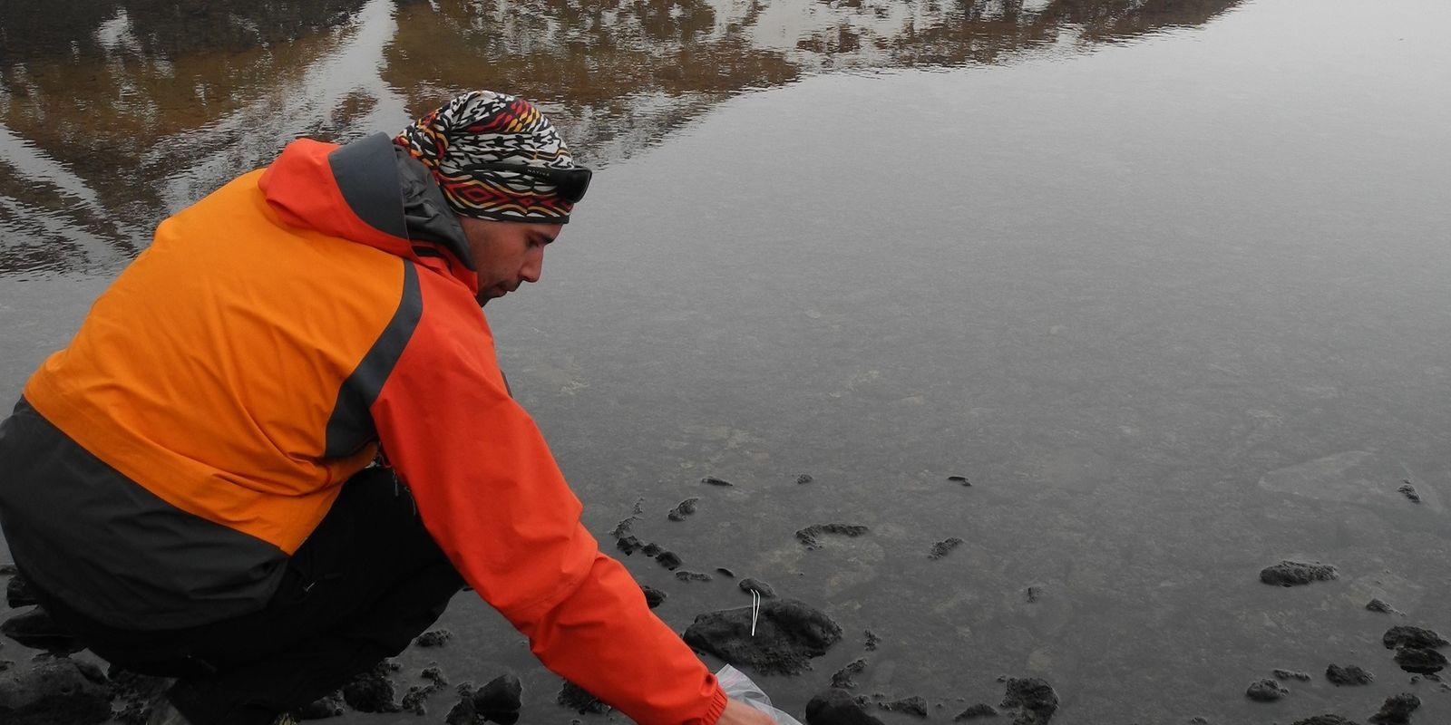 David Velázquez estudia el efecto del cambio climático sobre las comunidades microbianas polares