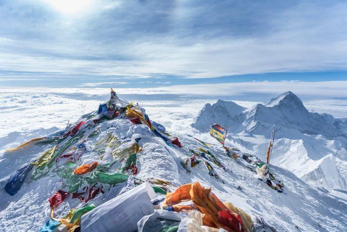 Cumbre del Everest
