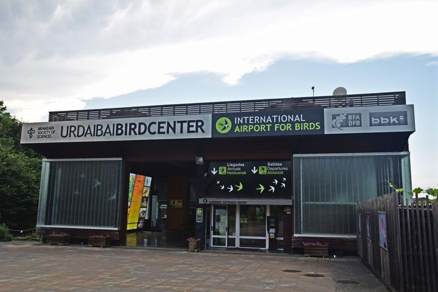 Urdaibai Bird Center, el centro de interpretación de aves de la reserva.