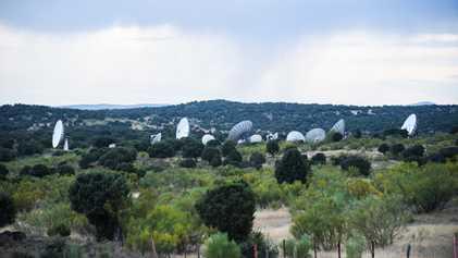 La historia tras la estación espacial de Fresnedillas de la Oliva
