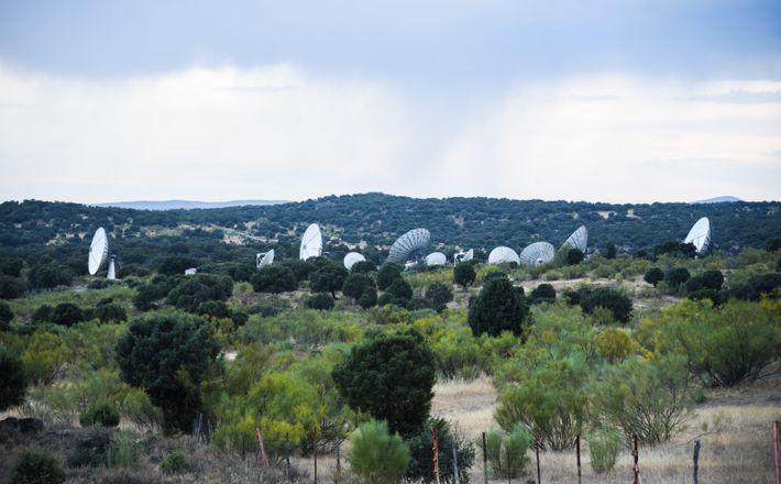 Estacion Espacial Fresnedillas Oliva
