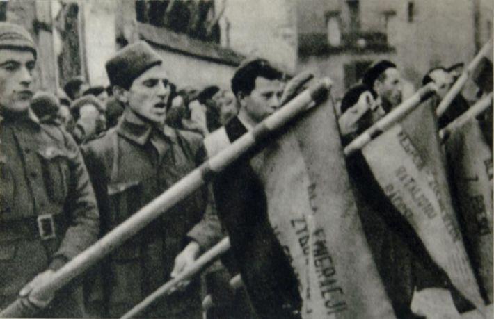 No pasaran Conquista Franco Madrid