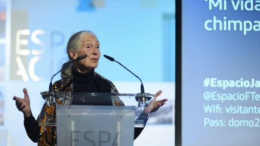 Entrevistamos a la primatóloga Jane Goodall a su paso por Madrid