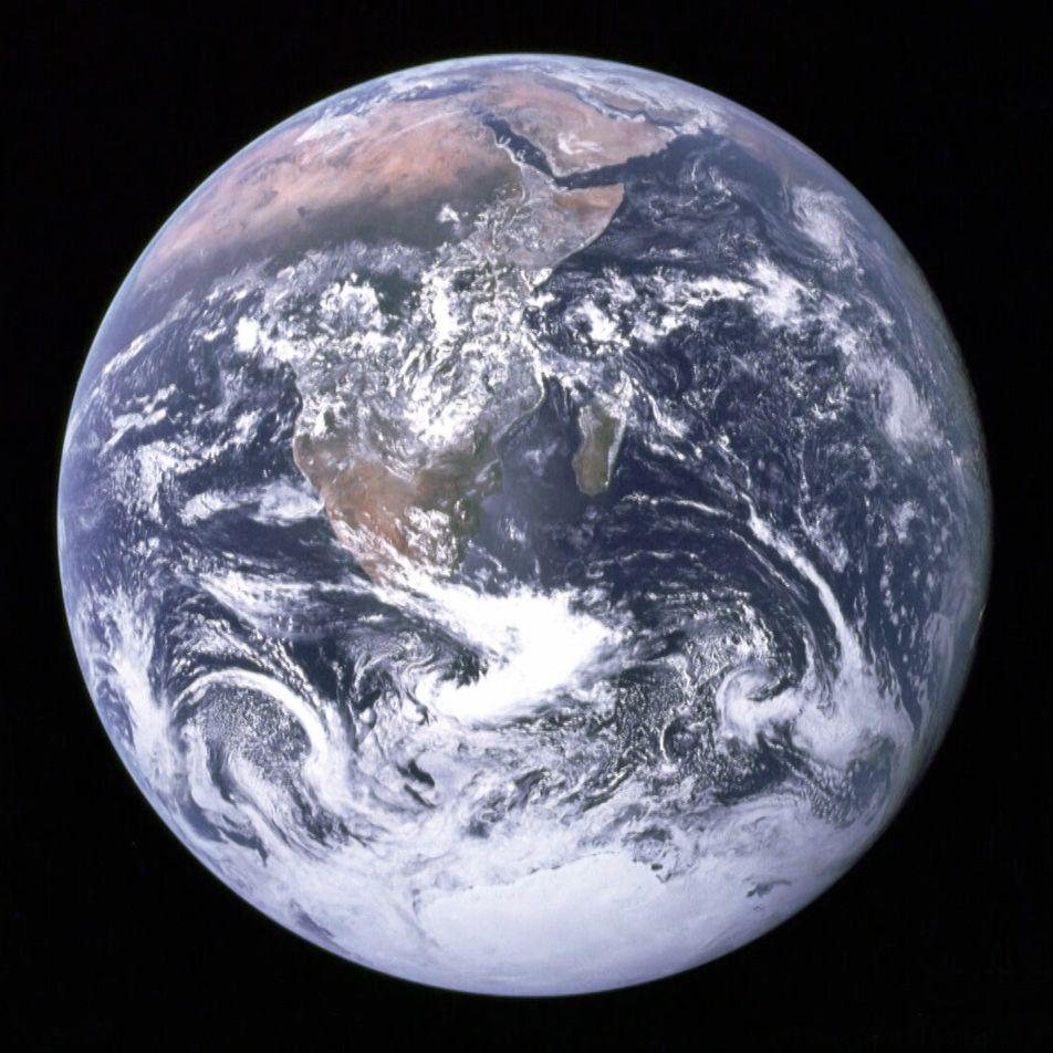 El primer selfi de la Tierra