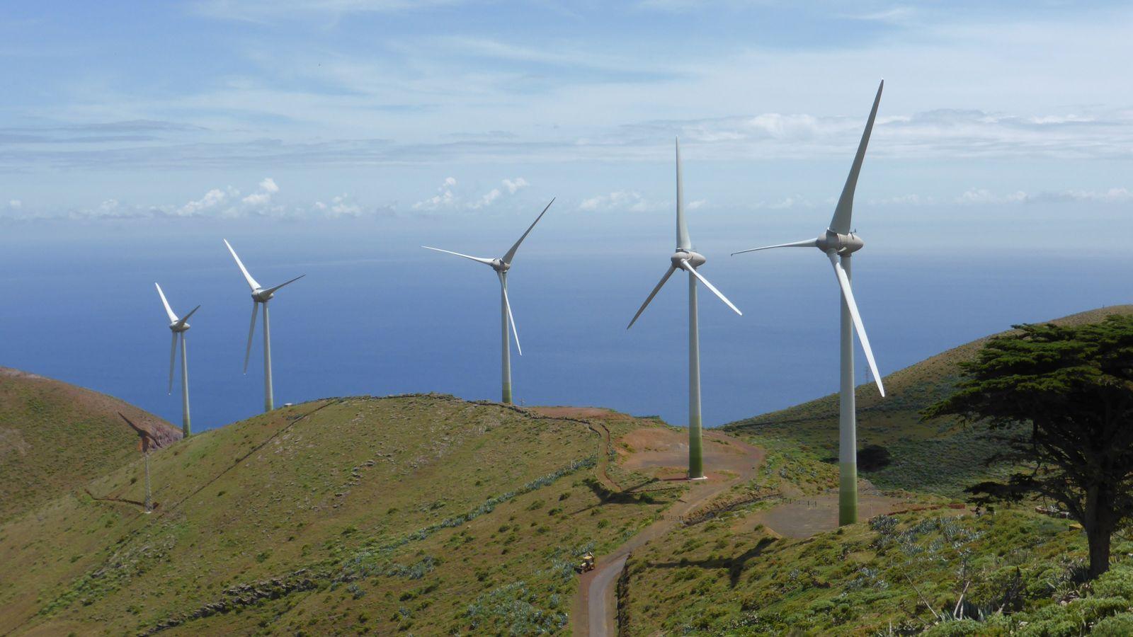 El Hierro parque eólico